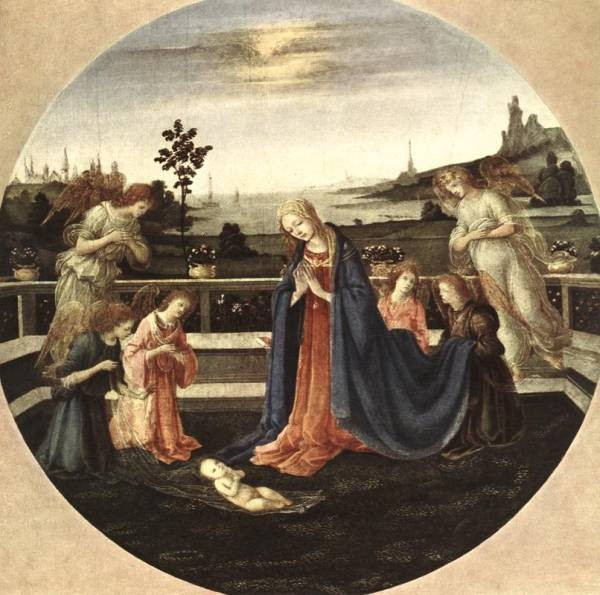 Adoration of the Child 1480 3